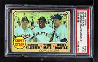 Super Stars (Willie Mays, Mickey Mantle, Harmon Killebrew) [PSA 5 EX]