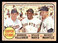 Super Stars (Willie Mays, Mickey Mantle, Harmon Killebrew) [VG]