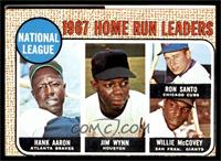 National League Home Run Leaders (Hank Aaron, Jimmy Wynn, Ron Santo, Willie McC…
