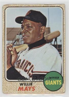 1968 Topps - [Base] #50 - Willie Mays [Poor]