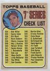 7th Series Checklist (Clete Boyer) (539 is Maj. L. Rookies)