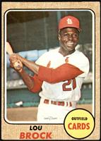 High # - Lou Brock [VG]