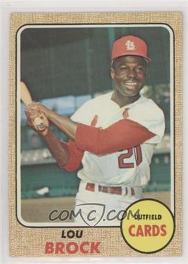 1968 Topps - [Base] #520 - High # - Lou Brock