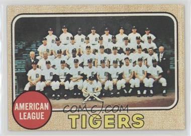 1968 Topps - [Base] #528 - Detroit Tigers Team
