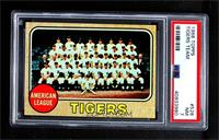 High # - Detroit Tigers Team [PSA 7 NM]