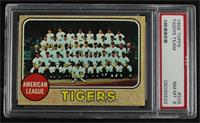 High # - Detroit Tigers Team [PSA 8 NM‑MT]