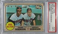 Bird Belters (Frank Robinson, Brooks Robinson) [PSA3VG]