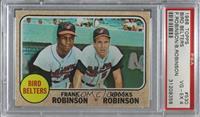 Bird Belters (Frank Robinson, Brooks Robinson) [PSA4VG‑EX]