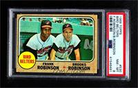 Bird Belters (Frank Robinson, Brooks Robinson) [PSA 8 NM‑MT]