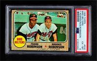 Bird Belters (Frank Robinson, Brooks Robinson) [PSA6EX‑MT]