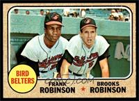 High # - Bird Belters (Frank Robinson, Brooks Robinson) [NM]
