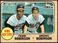 High # - Bird Belters (Frank Robinson, Brooks Robinson) [VG]