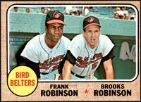 High # - Bird Belters (Frank Robinson, Brooks Robinson) [EX]