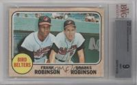High # - Bird Belters (Frank Robinson, Brooks Robinson) [BVG 9 MINT]