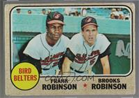 High # - Bird Belters (Frank Robinson, Brooks Robinson) [Poor]