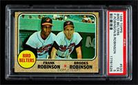 High # - Bird Belters (Frank Robinson, Brooks Robinson) [PSA 5 EX]