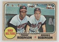 High # - Bird Belters (Frank Robinson, Brooks Robinson) [Poor to Fair]