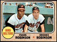 High # - Bird Belters (Frank Robinson, Brooks Robinson) [EX MT]