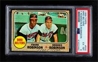 High # - Bird Belters (Frank Robinson, Brooks Robinson) [PSA 6 EXR…