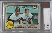High # - Bird Belters (Frank Robinson, Brooks Robinson) [BVG 3.5 VERY…