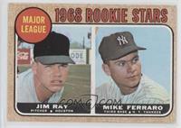 1968 Rookie Stars (Jim Ray, Mike Ferraro)