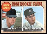 1968 Rookie Stars (Jim Ray, Mike Ferraro) [VG]
