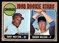 1968 Rookie Stars (Curt Motton, Roger Nelson) [NM]