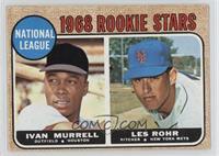 National League Rookie Stars (Ivan Murrell, Les Rohr) [GoodtoVG&#82…