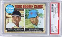 National League Rookie Stars (Ivan Murrell, Les Rohr) [PSA8]