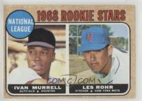 National League Rookie Stars (Ivan Murrell, Les Rohr)