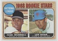 National League Rookie Stars (Ivan Murrell, Les Rohr) [Good to VG&#82…