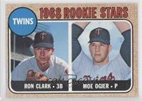 Twins Rookie Stars (Ron Clark, Moe Ogier)