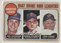 1967 AL Home Run Leaders (Carl Yastrzemski, Frank Howard, Harmon Killebrew) [Po…