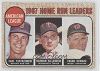 1967 AL Home Run Leaders (Carl Yastrzemski, Frank Howard, Harmon Killebrew) [Go…