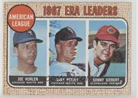 1967 NL ERA Leaders (Sonny Siebert, Joe Horlen, Gary Peters) [Goodto…