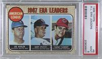 Sonny Siebert, Joe Horlen, Gary Peters [PSA 9 MINT]