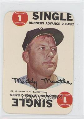 1968 Topps - Game #2 - Mickey Mantle