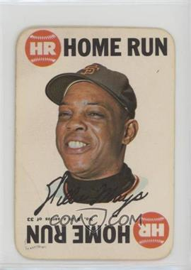1968 Topps - Game #8 - Willie Mays [Poor to Fair]