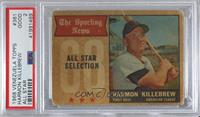Harmon Killebrew [PSA 2 GOOD]