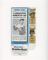 Lou Gehrig, Frank Chance, Mickey Cochrane, John McGraw, Babe Ruth [Goodto…