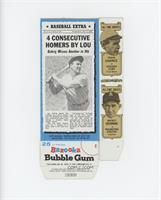 Lou Gehrig, Frank Chance, Mickey Cochrane, John McGraw, Babe Ruth