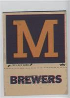 Milwaukee Brewers Hat Logo (Brewers Not Outlined) [Poor]