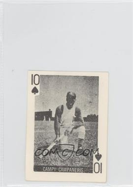 1969 Globe Imports Playing Cards - Gas Station Issue [Base] #10S - Campy Campaneris