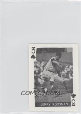 1969 Globe Imports Playing Cards - Gas Station Issue [Base] #3C - Jerry Koosman