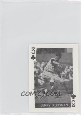 1969 Globe Imports Playing Cards - Gas Station Issue [Base] #3C.2 - Jerry Koosman