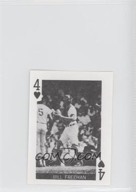 1969 Globe Imports Playing Cards - Gas Station Issue [Base] #4H - Bill Freehan
