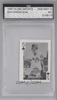 1969 Globe Imports Playing Cards - Gas Station Issue [Base] #5C - Bud Harrelson [ENCASED]