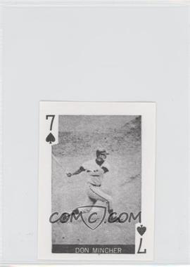 1969 Globe Imports Playing Cards - Gas Station Issue [Base] #7S - Don Mincher