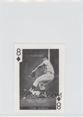 1969 Globe Imports Playing Cards - Gas Station Issue [Base] #8D - Tom Seaver
