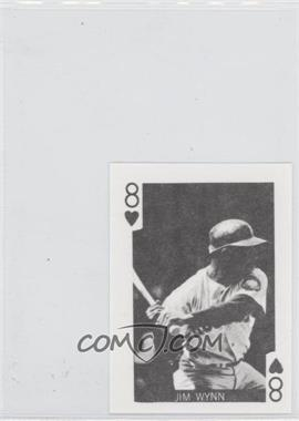1969 Globe Imports Playing Cards - Gas Station Issue [Base] #8H - Jimmy Wynn